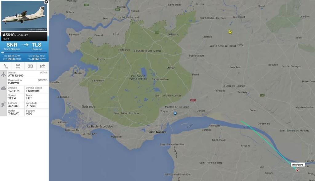 flightradar LFRZ