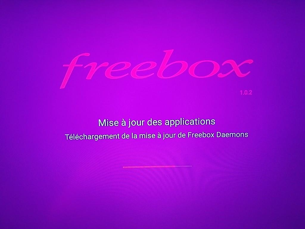 freebox 4K màj daemons
