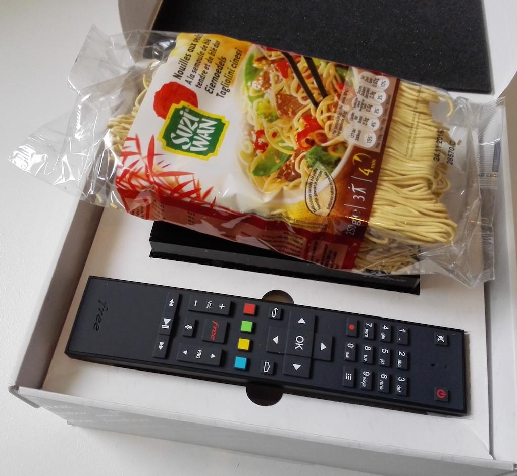 freebox 4K nouilles asiatiques