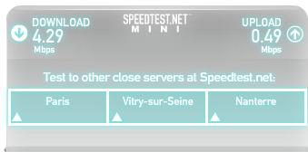 freemobile speedtest interne