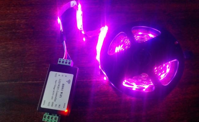 H801 : vos LEDs RGB en WiFi avec Google Home