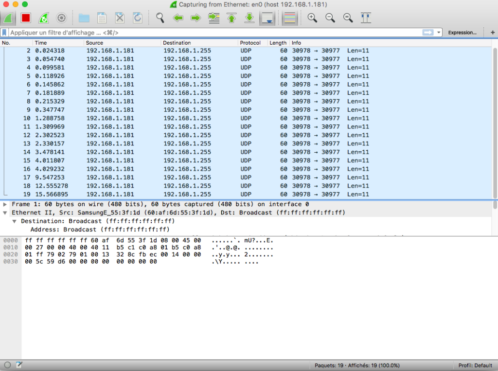 wireshark osx