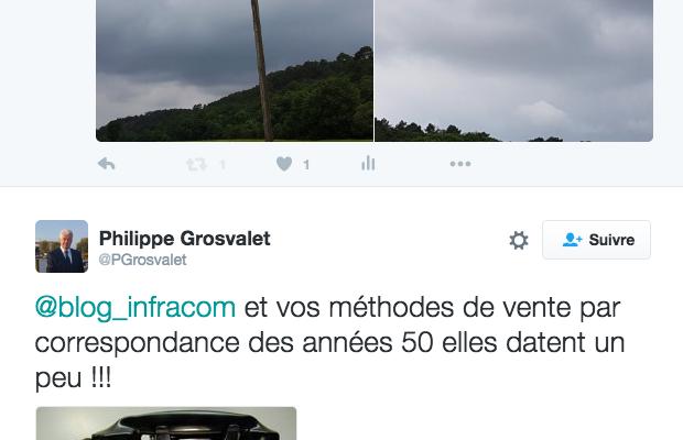 #LoireAtlantique : le coût du débit internet