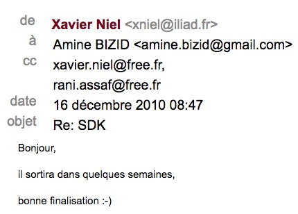 freebox niel email