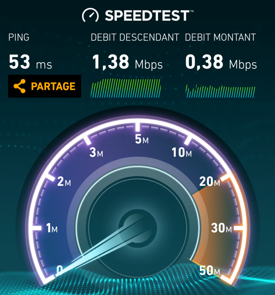 freemobile Crossac reseau fm