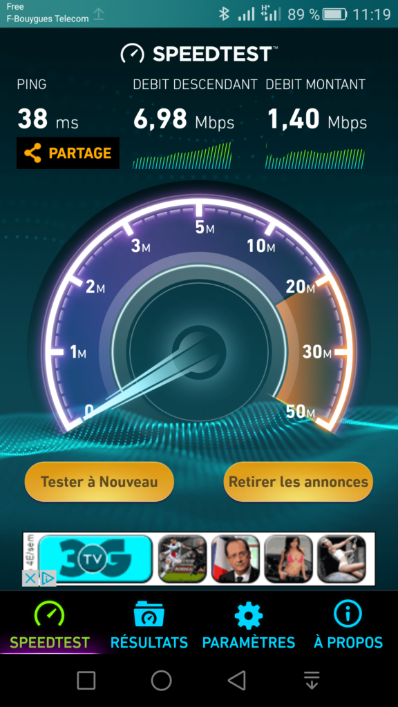 speedtest BT Crossac