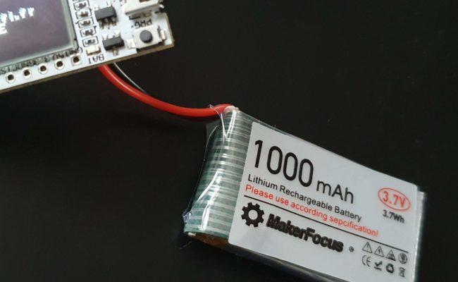 ESP8266 : Wifi Kit 8 en test